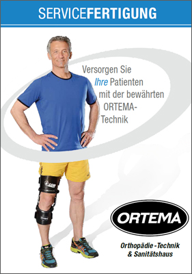 Supply your Patients with the Proven ORTEMA Technology